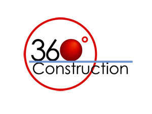 360 Degree Construction Logo